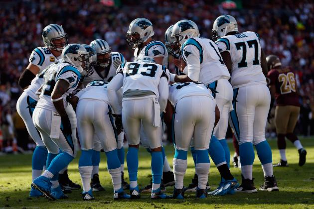 Initial Post-Draft Depth Chart for the Carolina Panthers