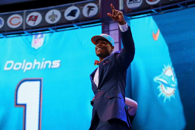 2013 NFL Draft: Full Recap of Every Miami Dolphins Pick and Trade