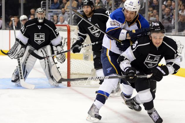 Preview and Prediction for St. Louis Blues vs. Los Angeles Kings