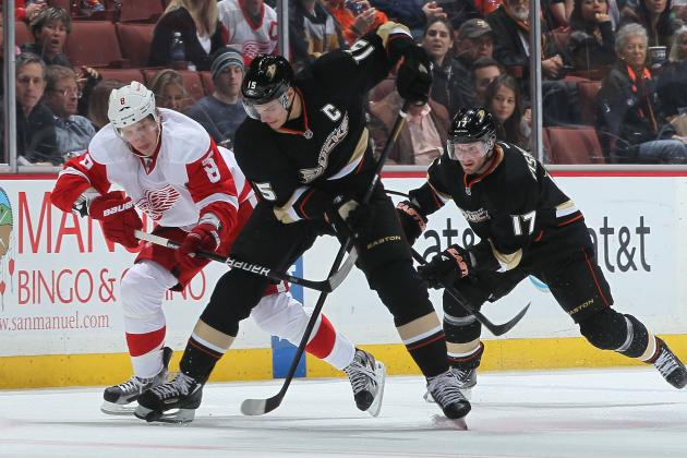 Preview and Prediction for the Anaheim Ducks-Detroit Red Wings Playoff Matchup