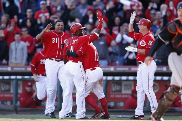 Cincinnati Reds Grades for Every Player in April