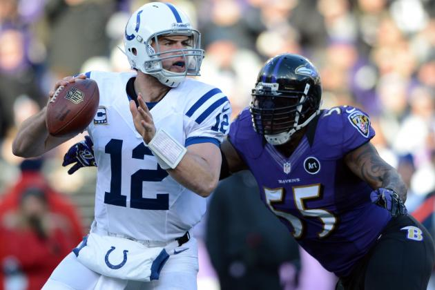 Initial Post-Draft Depth Chart for the Indianapolis Colts