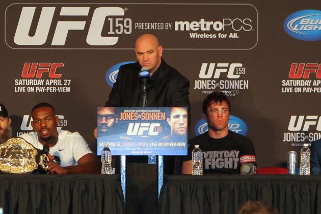 Jon Jones vs. Chael Sonnen Results: 5 Fights for Sonnen to Take Next