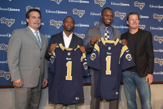 Initial Post-Draft Depth Chart for the St. Louis Rams