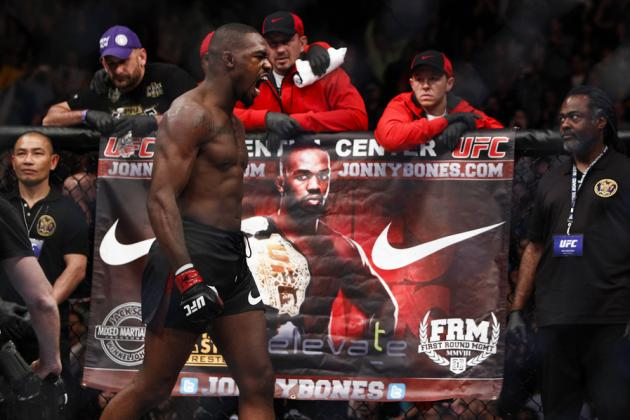 Jones vs Sonnen: Power Ranking Jon Jones UFC Title Defenses