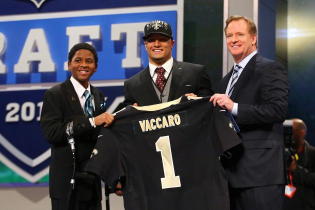 Saints 2013 Draft: Aggregating Report Cards from the Web