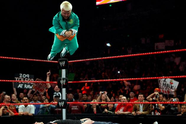 Hornswoggle's Tadpole Splash and Wrestling's Worst Aerial Moves