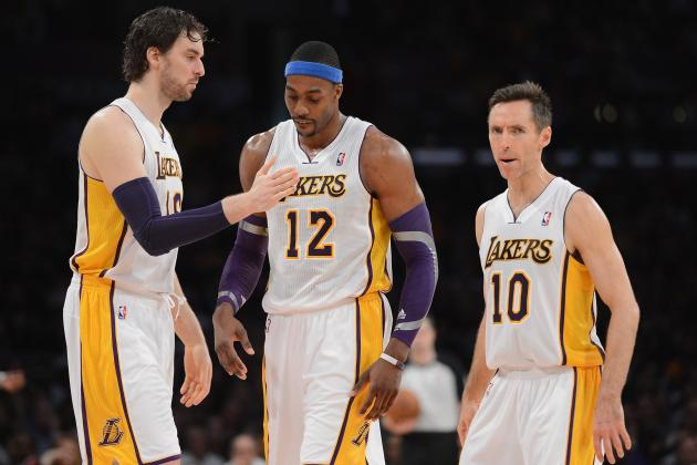 Best and Worst LA Lakers Lineups in 2013 NBA Playoffs