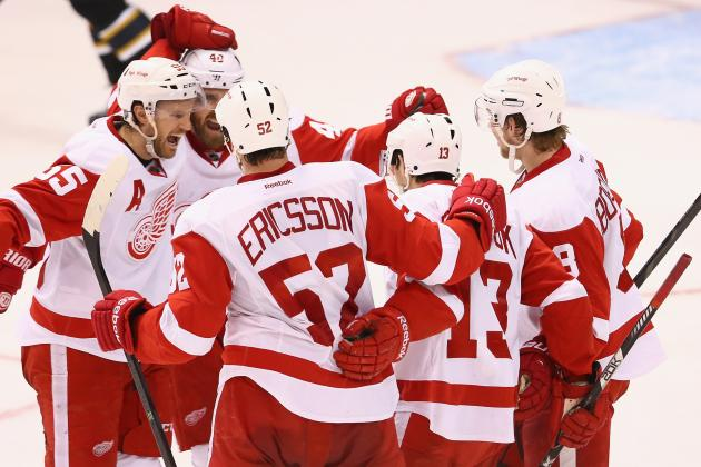 Detroit Red Wings vs. Anaheim Ducks Series Schedule, Preview and Prediction