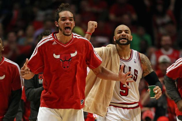 Grading Every Chicago Bulls Players' 1st-Round Performance So Far
