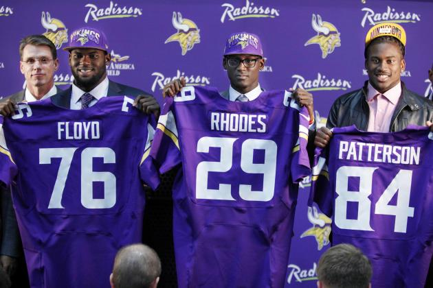 Projecting the Impact for Each Vikings 2013 Selection