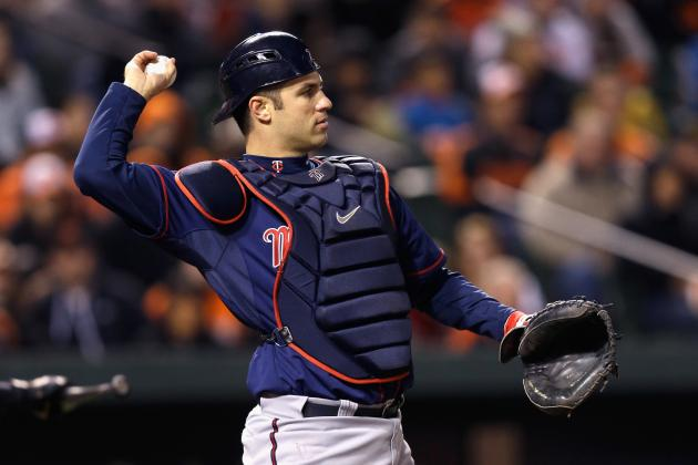 MLB Rankings 2013: Top 10 Catchers