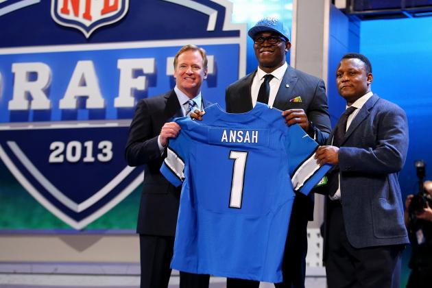 2013 Detroit Lions NFL Draft: Draft Grades and Rookie Roles and Predictions