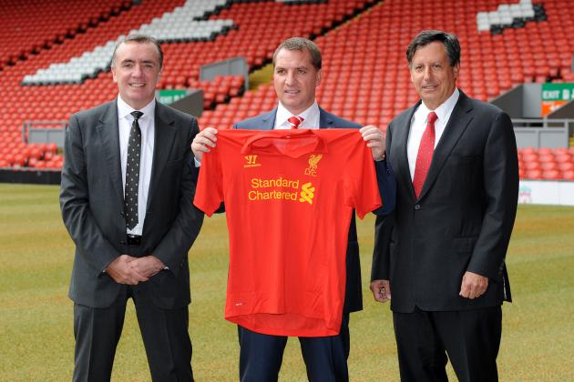 Liverpool's 2012-13 Season in 10 Pictures
