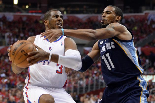 NBA Playoffs 2013: Memphis Grizzlies vs. Los Angeles Clippers, Game 5 Picks