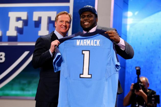 Projecting the 2013 Impact for Each Tennessee Titans 2013 Draft Selection