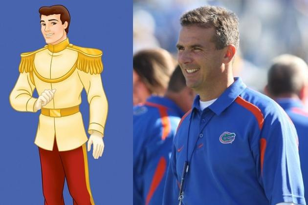 Comparing Top College Football Coaches to Disney Characters