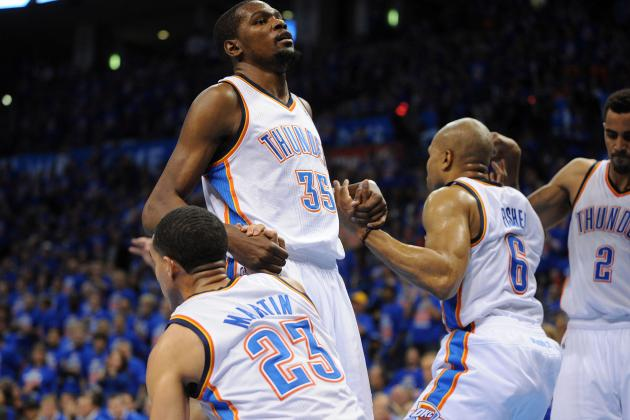 Grading Every OKC Thunder Players' 1st Round Performance so Far
