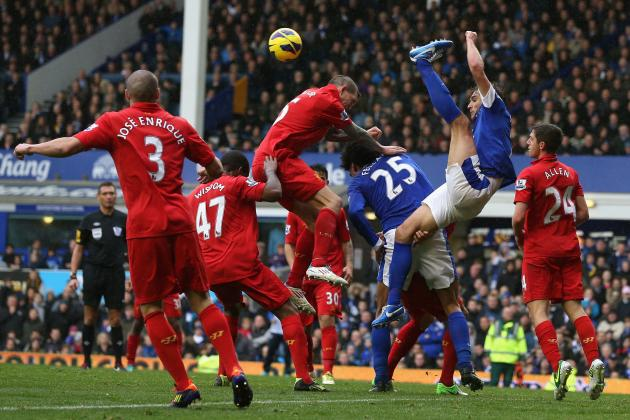 Picking a Combined Liverpool and Everton XI