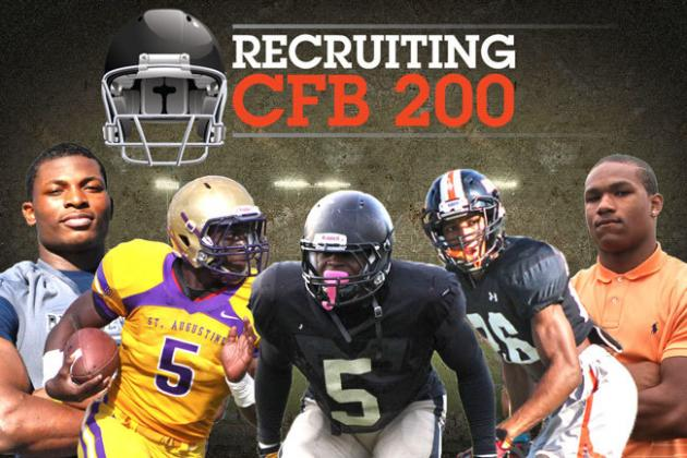 Top 200 College Football Recruits for Class of 2014