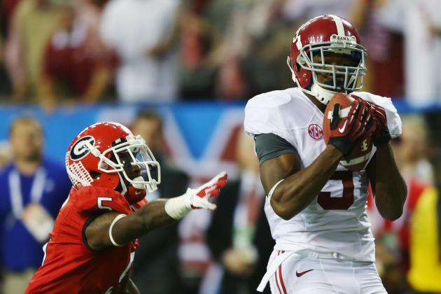 Alabama Football: Breaking Down Top 5 Wide Receivers for 2013