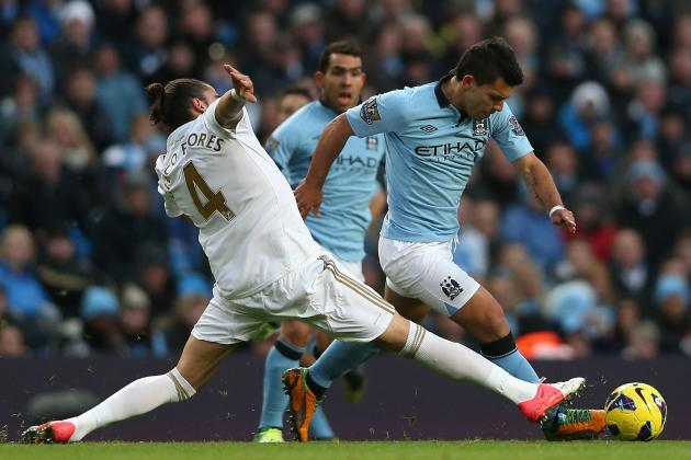 Swansea City vs. Manchester City: 5 Key Battles to Watch at Liberty Stadium