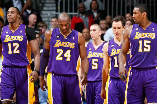 Grading Every LA Lakers Starter in 2012-13