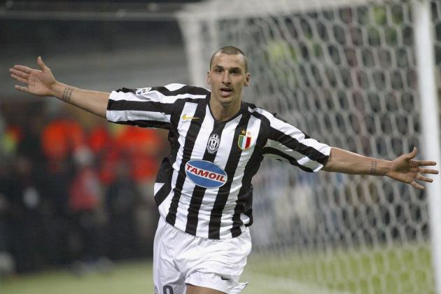 Picking a Juventus Team to Include Zlatan Ibrahimovic