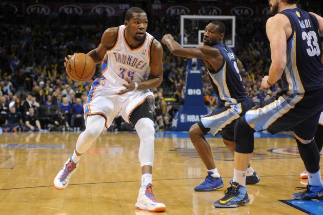 NBA Playoff Picks: Memphis Grizzlies vs. Oklahoma City Thunder, Game 1