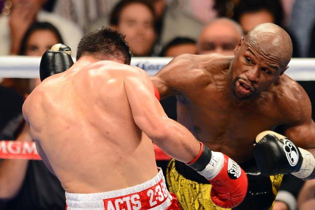 Floyd Mayweather vs. Robert Guerrero: Grading Money May in Win over the Ghost