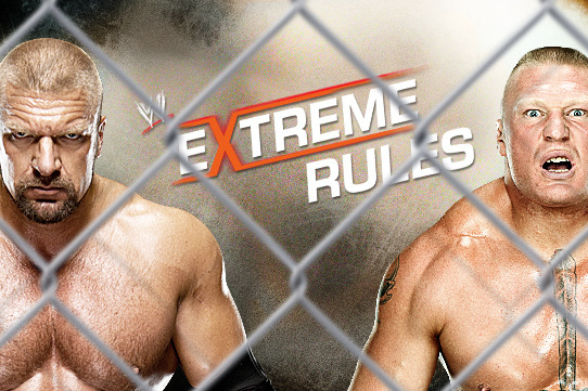 Brock Lesnar Must Defeat Triple H at Extreme Rules
