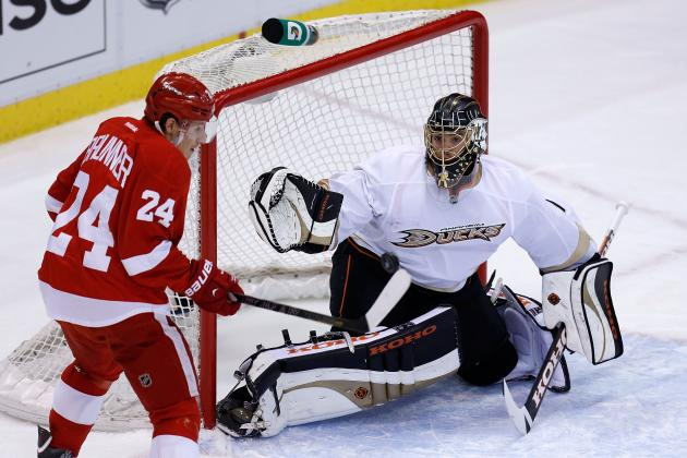 2013 Stanley Cup Playoffs: Who's Hot and Cold for Detroit Red Wings