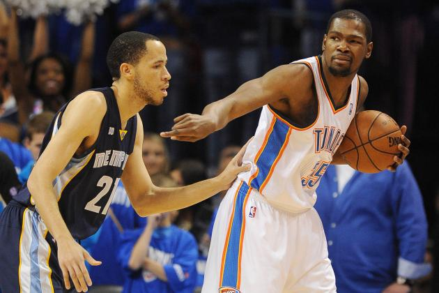Keys for Oklahoma City Thunder to Beat Memphis Grizzlies in the 2nd Round