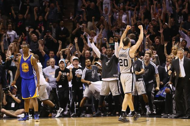Golden State Warriors vs. San Antonio Spurs: Game 1 Postgame Grades and Analysis