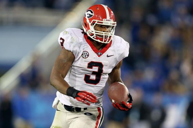 SEC Football Post-Spring Starting Running Back Rankings