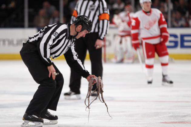 Ranking the 10 Strangest Moments in NHL Playoff History