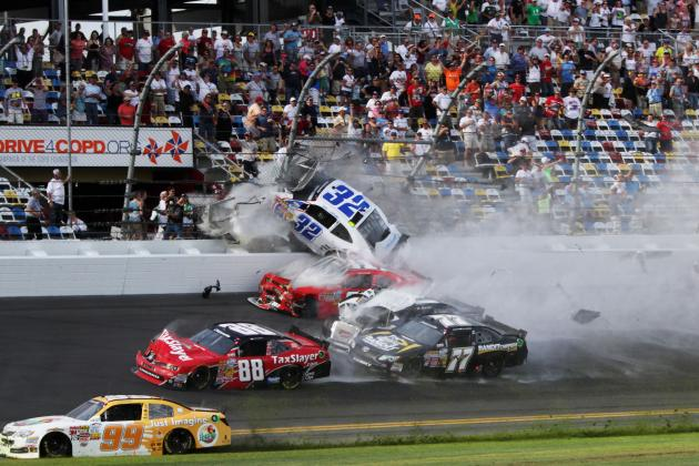 Ranking the 10 Strangest Accidents in NASCAR History