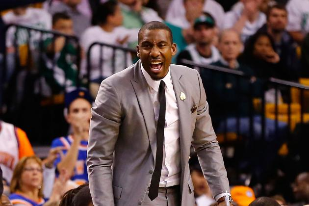 3 Ways Amar'e Stoudemire Can Help the New York Knicks in the 2nd Round