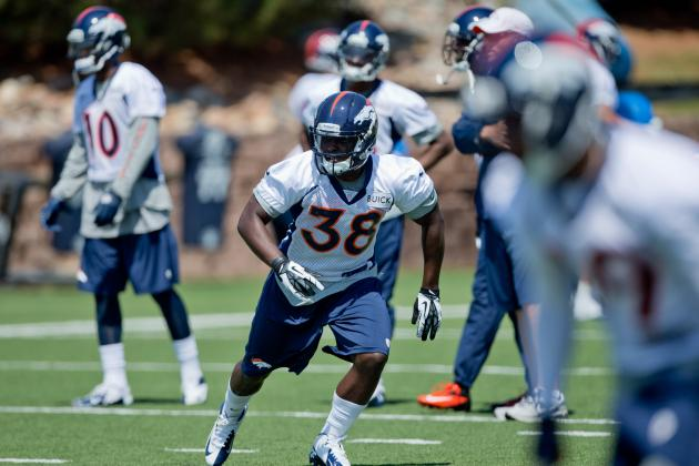 2013 Denver Broncos Rookie Minicamp: Day 2 at Dove Valley