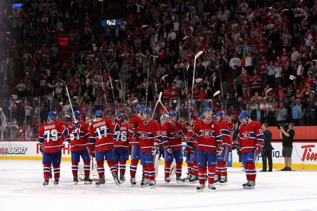 Report Card for Montreal Canadiens' 1st-Round Playoff Defeat Against Ottawa