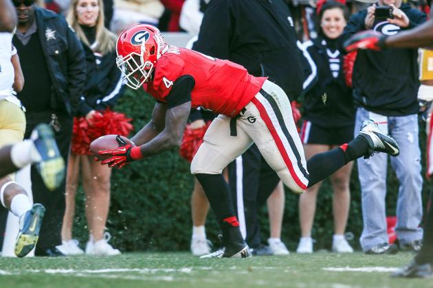 Georgia Football: Ranking the Best Offensive Weapons for the Bulldogs