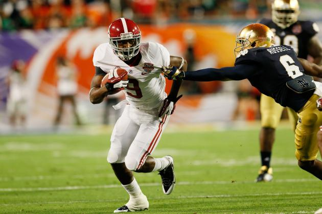 Alabama Football: Ranking the 6 Best Offensive Weapons for Tide