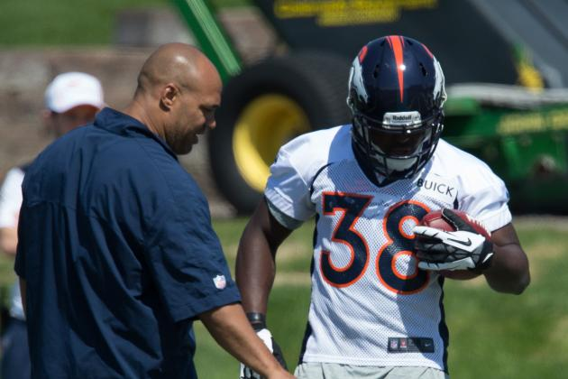 2013 Denver Broncos Rookie Minicamp: 5 Most Compelling Storylines from Camp