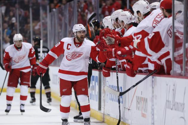 Report Card for Detroit Red Wings' 1st-Round Playoff Series