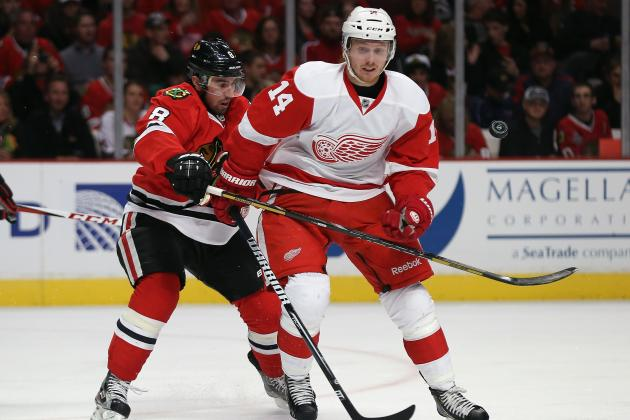 Detroit Red Wings' Keys to Win 2nd-Round Playoff Series vs. Chicago Blackhawks