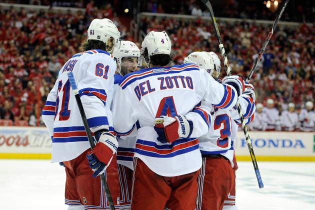 Report Card for New York Rangers' 1st-Round Playoff Victory