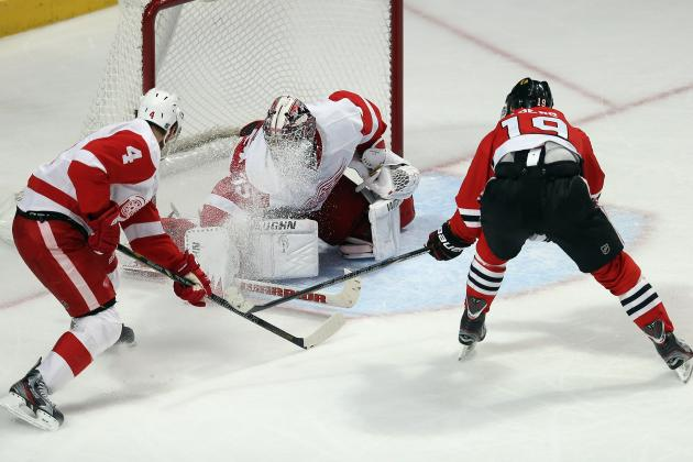 NHL Playoffs 2013: Detroit Red Wings vs. Chicago Blackhawks Schedule and Preview