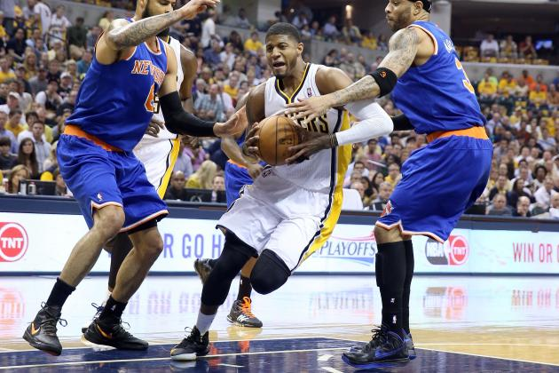 New York Knicks vs. Indiana Pacers: Game 4 Postgame Grades and Analysis