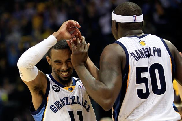 Playoff Grades for Every Memphis Grizzlies Player so Far