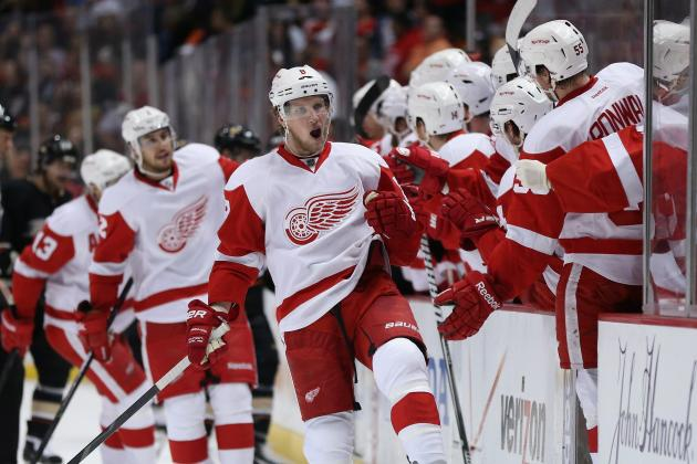 3 Biggest X-Factors for Detroit Red Wings in 2nd Round of NHL Playoffs